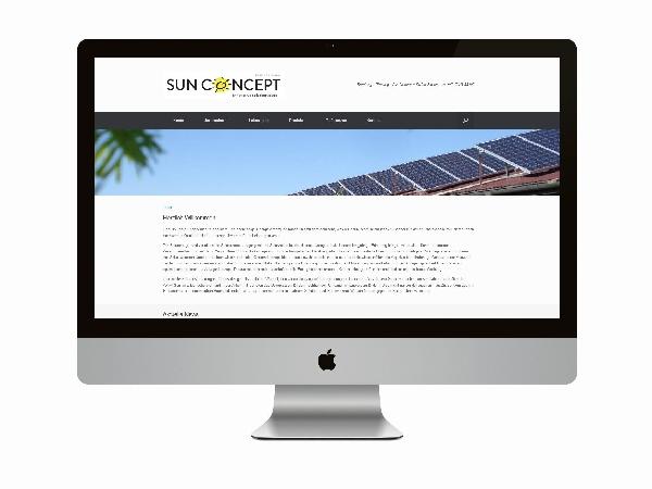 SunConcept Relaunch von www.sunconcept-ap.de